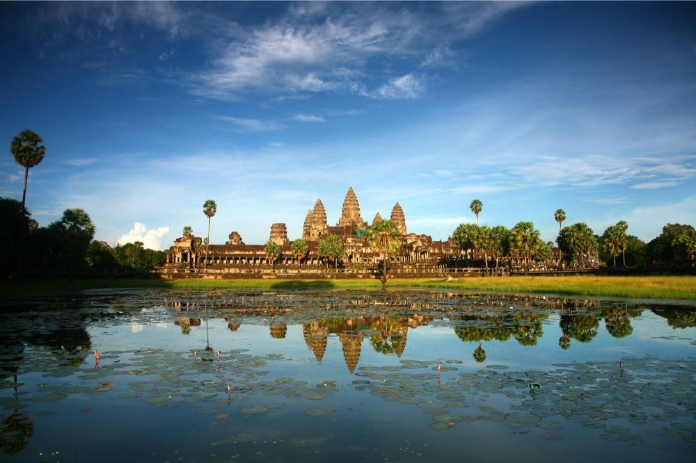 Wie sieht Angkor Wat in Kambodscha aus? (Shutterstock.com. Von Amnartk)