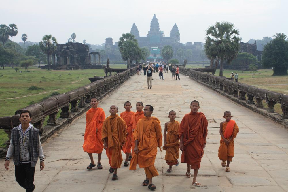 Wer Angor Wat sehen möchte, benötigt ein Visum für Kambodscha.