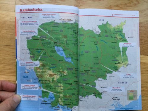 Neuer Lonely Planet Kambodscha November 2018