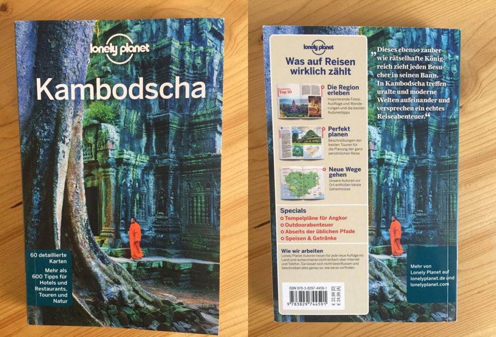 Der neue Lonely Planet 2019 über Kambodscha in deutsch.