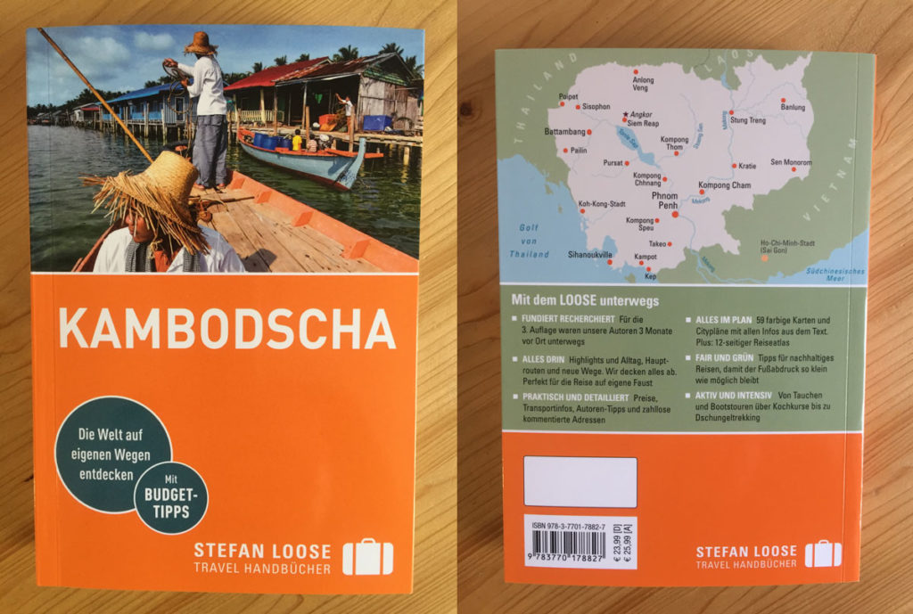 "Der Stefan Loose Reiseführer 2019 ""Kambodscha"""