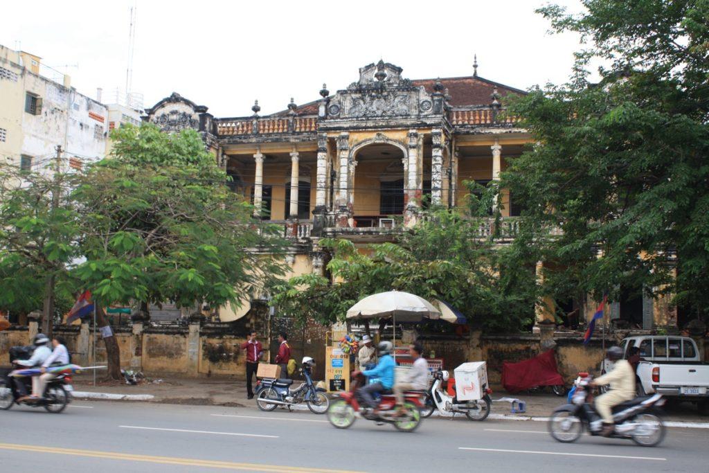 Eine von vielen französischen Villen aus der Kolonialzeit.
