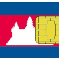 Simkarte in Kambodscha