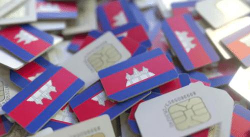 Simkarten in Kambodscha