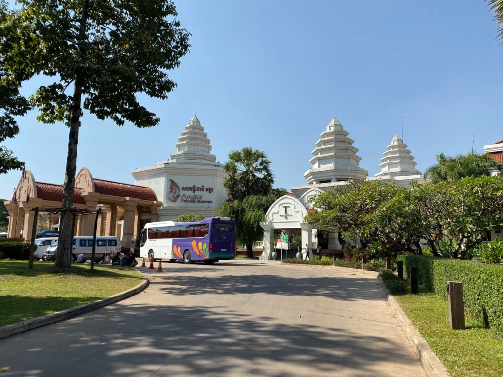 Das Angkor-Nationalmuseum in Siem Reap